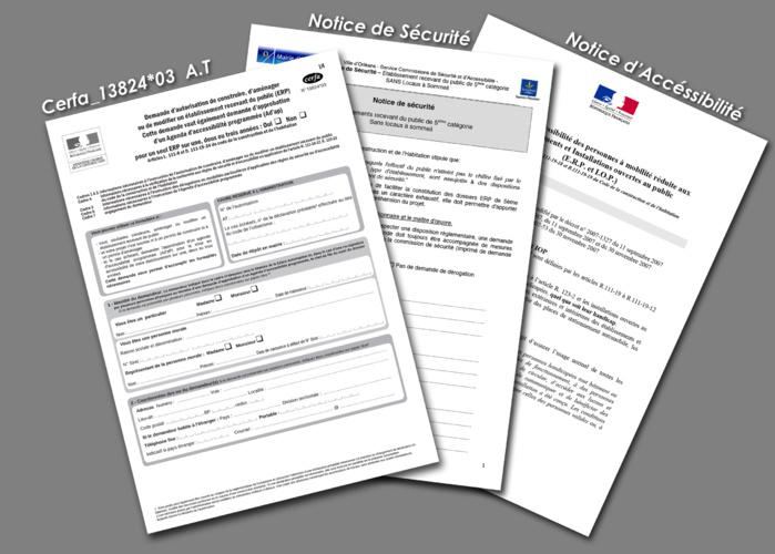 Obligation de déposer les Autorisations de Travaux (AT) lorsqu'ils concernent un établissement recevant du public. (ERP)
