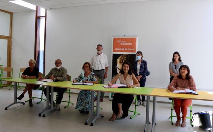 Signature de la convention Sport-Santé-Culture-Civisme (2S2C) entre la Ville d'Ajaccio et l'Académie de Corse