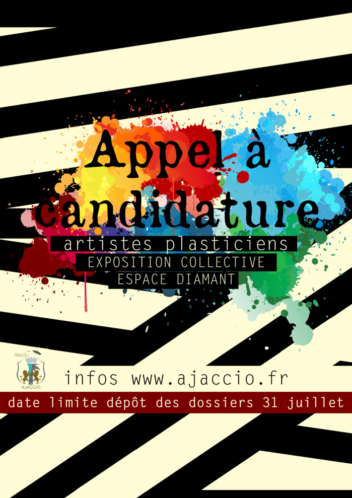 Prolongation Appel à candidature Exposition collective / Artistes plasticiens