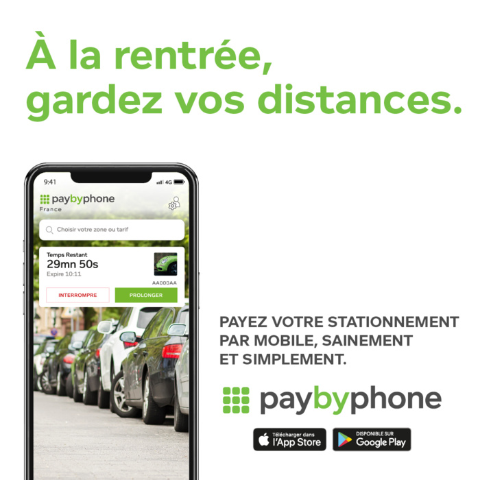 Application Pay By Phone, payez par mobile stationnez facile !