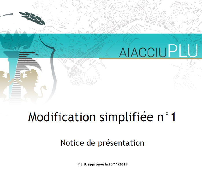 Mise à disposition du public du dossier de modification simplifiée n° 1 du Plan Local d'Urbanisme