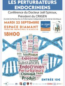 Conférence : Les perturbateurs endocriniens