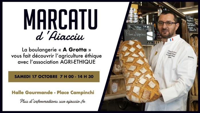 Découverte de l'agriculture éthique samedi 17 octobre halle gourmande Place Campinchi