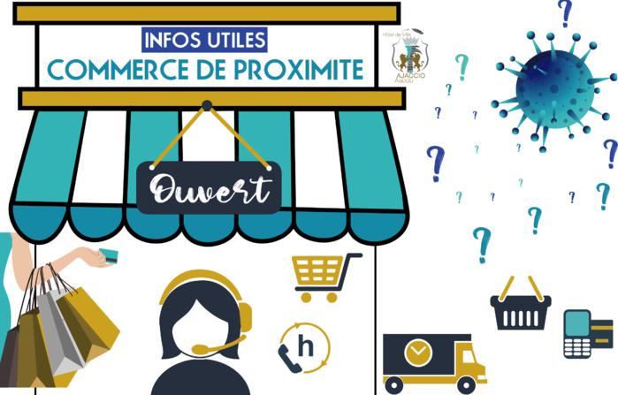 La liste de vos commerces de proximité organisés en click & collect