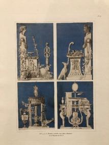 Planche issue des exceptionnelles collections du fonds de la bibliothèque patrimoniale Fesch.