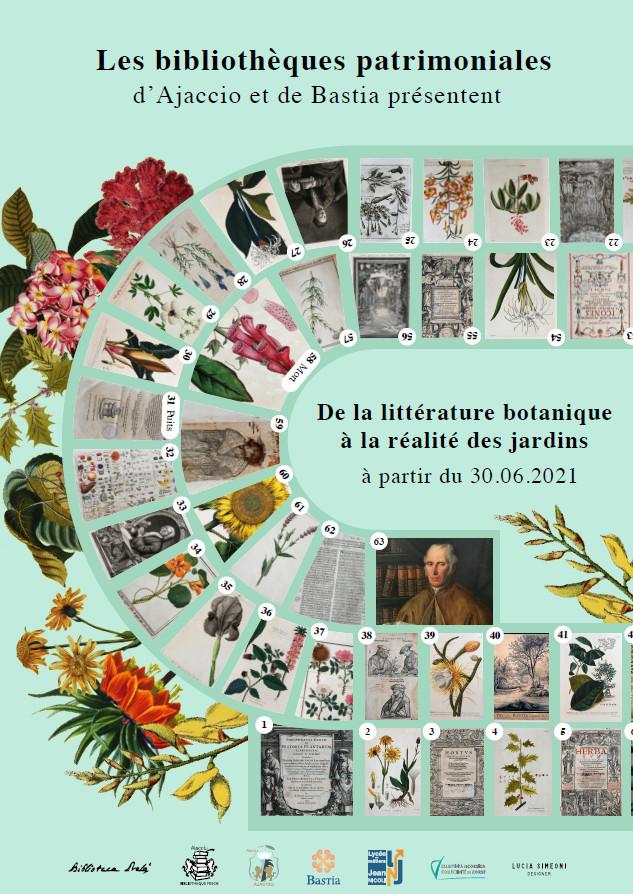Exposition « De la littérature botanique à la réalité des jardins »