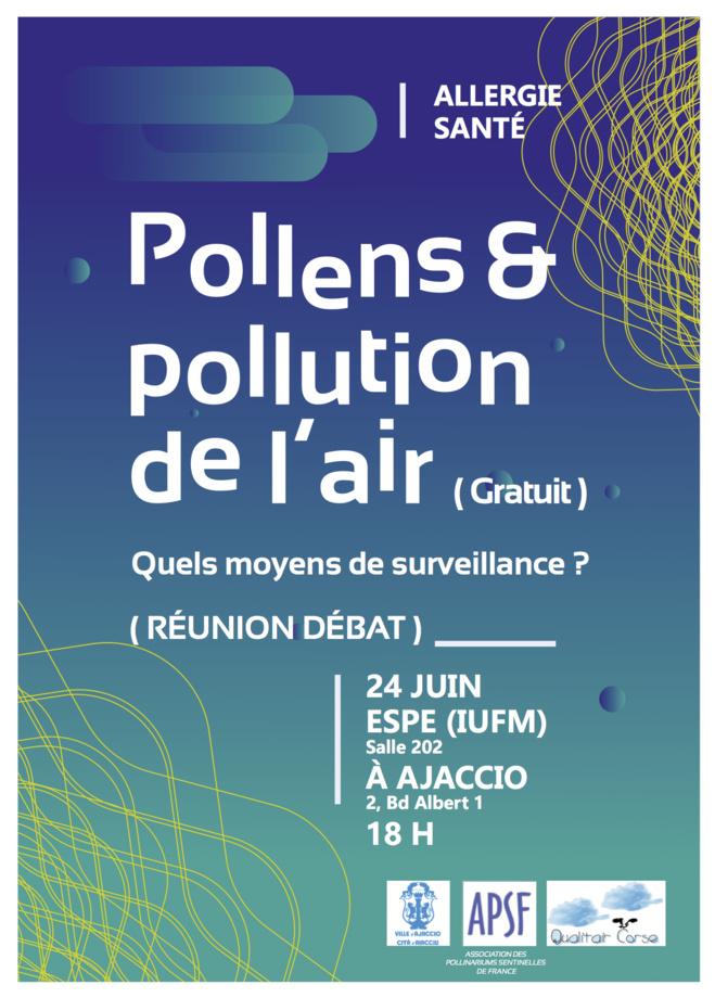 Conférence: Pollens et pollution de l'air. Quels moyens de surveillance?