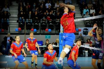 Match de Volley Ajaccio / Toulouse au Palatinu