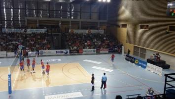 Volley Ajaccio / Nantes au Palatinu