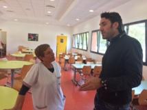12 avril, aujourd'hui on s'invite à la cantine de l'école Jérôme Santarelli