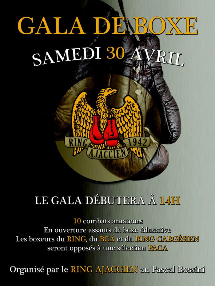 Gala de Boxe du Ring Ajaccien au Pascal Rossini