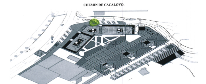 Institution d'emplacement pour personnes à mobilité réduite Chemin de Cacalovo