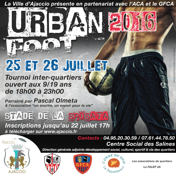 Tournoi Urban Foot 2016