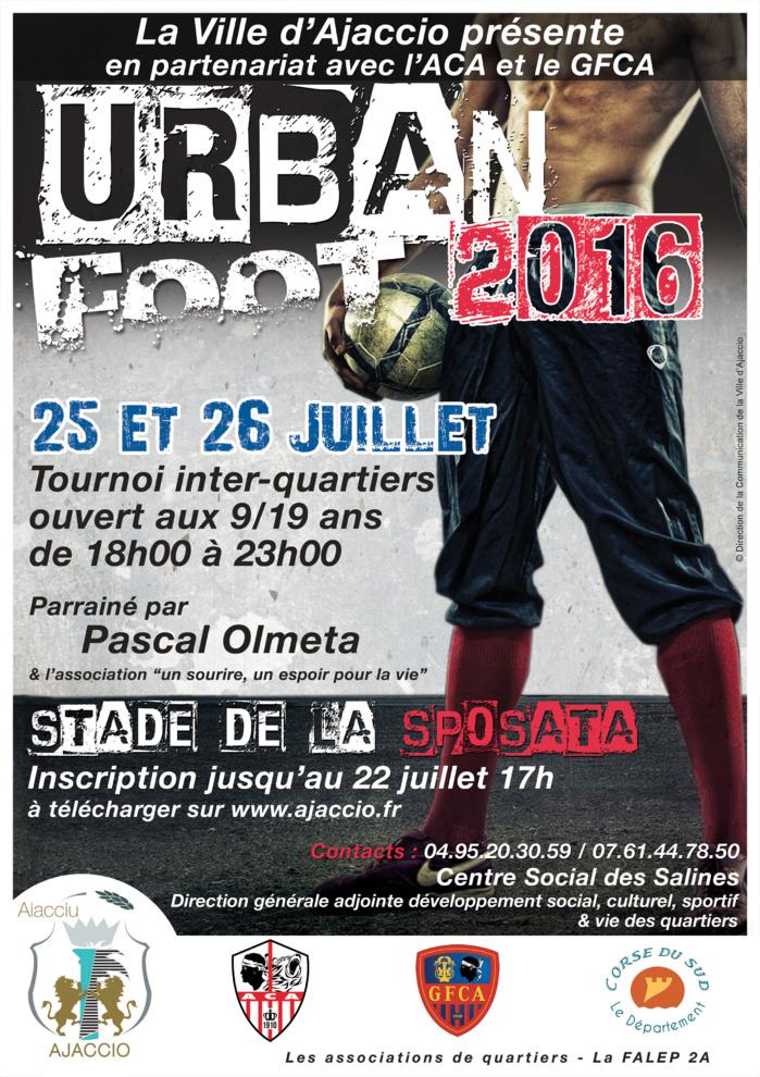 URBAN FOOT, 25 et 26 juillet au stade de la Sposata