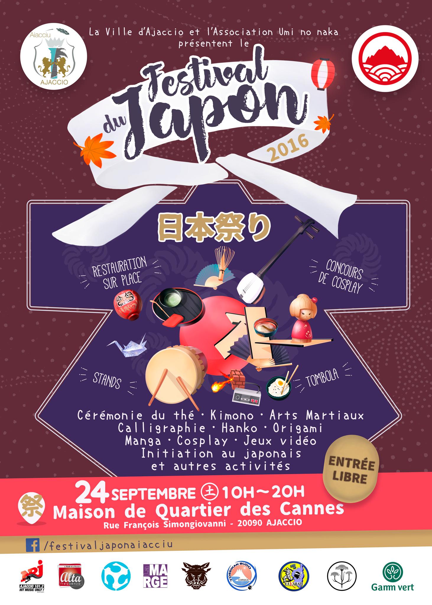 Festival Du Japon 2ème édition le samedi 24 septembre