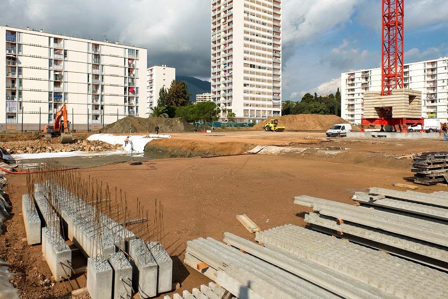 La nouvelle école des Salines sort de terre