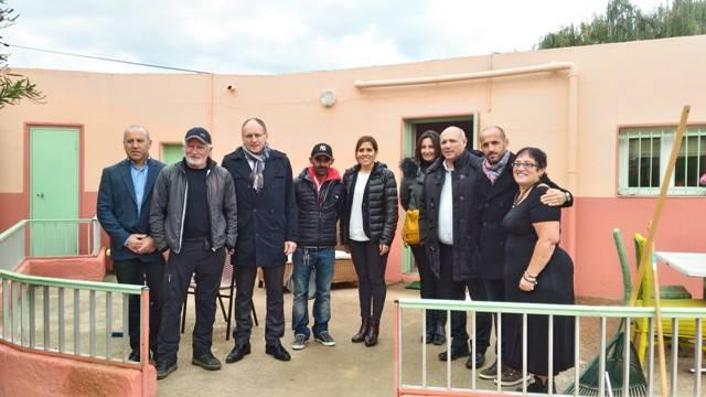 Visite des installations sportives de la Ville d'Ajaccio