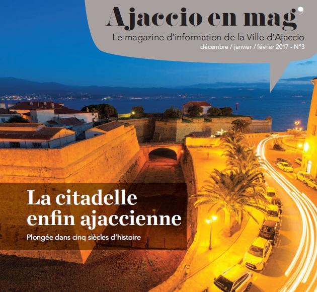 Ajaccio en Mag' en ligne et dans votre boîte aux lettres