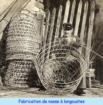Fabrication de nasses à langoustes