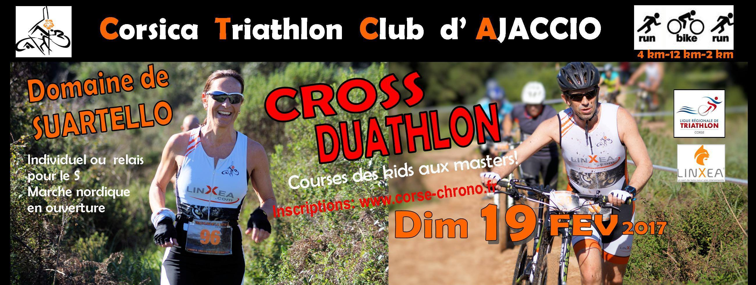1er Cross Duathlon du Domaine de Suartello