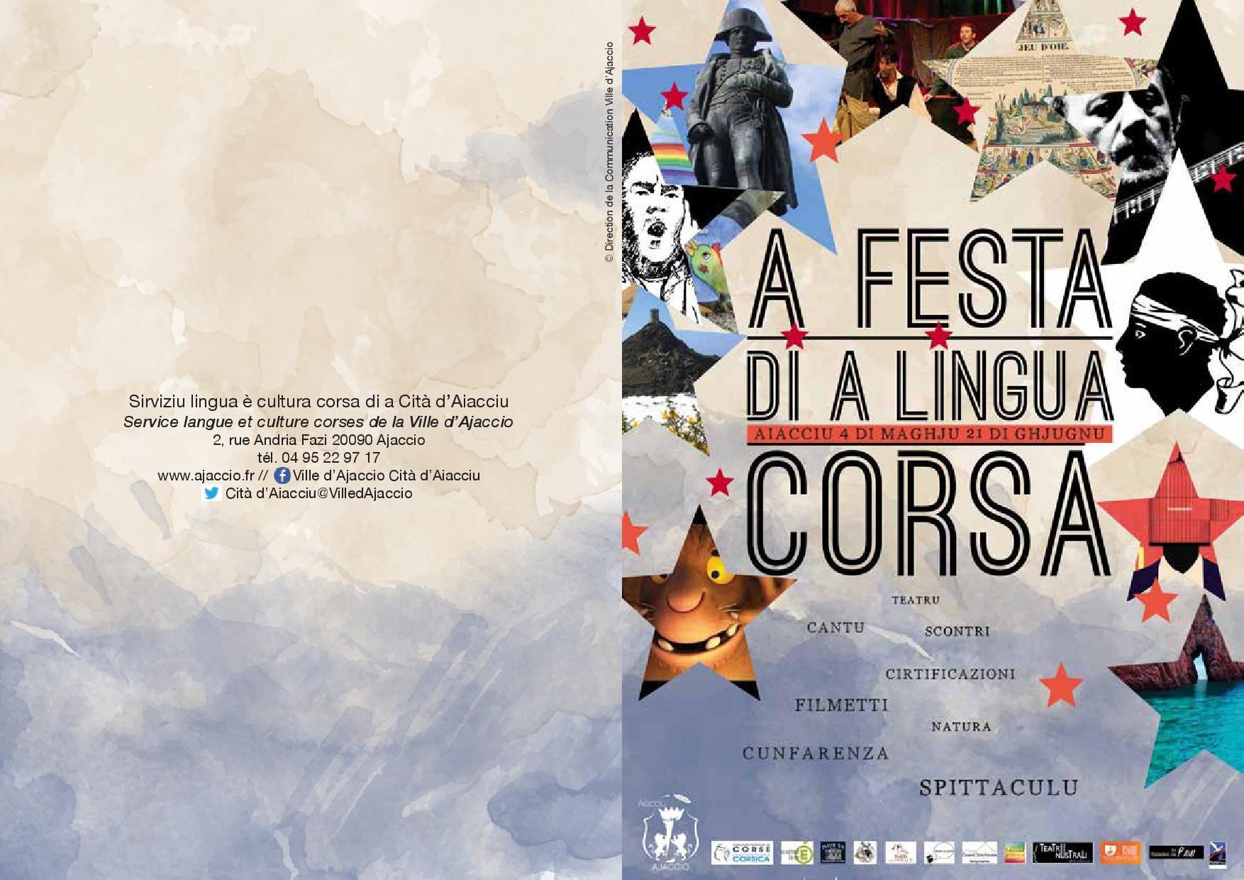 Festa di a lingua corsa in Aiacciu