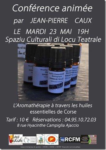 Conférence 23 mai : L'aromathérapie à travers les huiles essentielles de Corse
