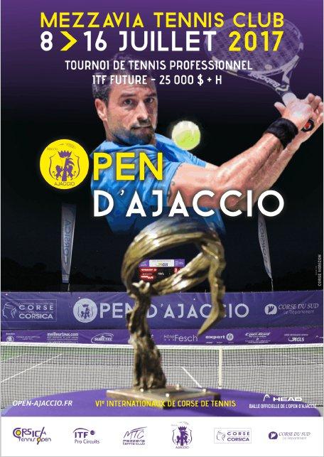 Open de Tennis d'Ajaccio du 8 au 16 juillet