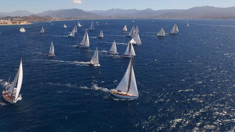 Ajaccio ville de départ de la 8 ème édition de la Corsica Classic du 27 août au 8 septembre