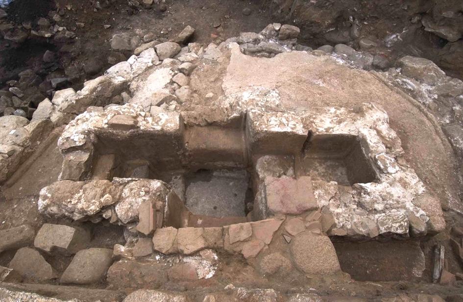 Le baptistère Saint-Jean suite aux fouilles rélaisées par une équipe de l'Institut national de recherches archéologiques préventives (Inrap) placée sous la direction de Daniel Istria (photo Drac).