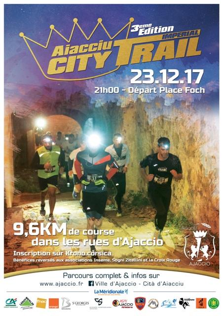 3 ème édition du City Trail Impérial le 23 décembre départ 21h !