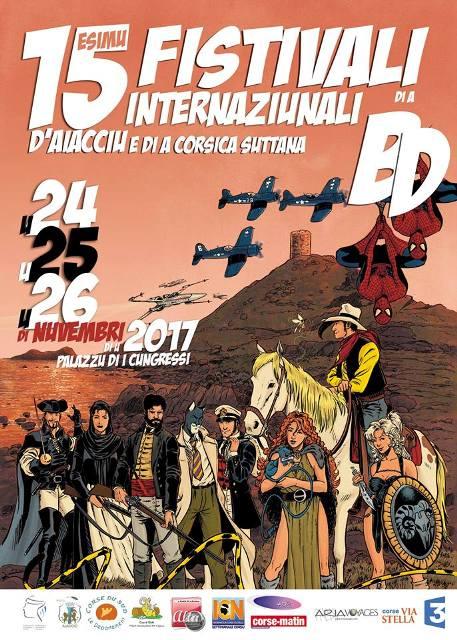 Festival International de la BD 2017 du 24 au 26 novembre au Palais des Congrès