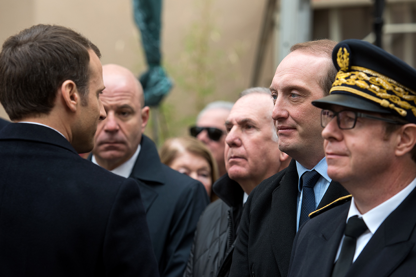 Cérémonie d'hommage au préfet Erignac (Photos Ville d'Ajaccio)..
