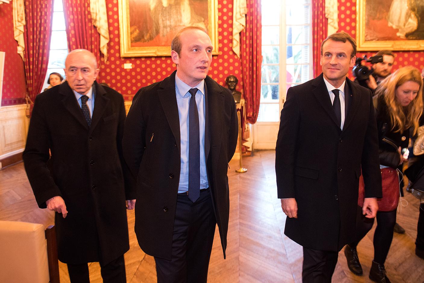 Visite du salon napoléonien.