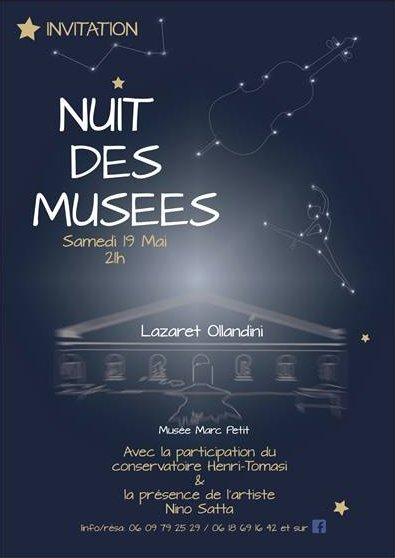 Nuit des Musées au Lazaret Ollandini, Musée Marc-Petit