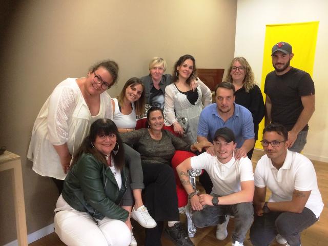 l'équipe de la maison de quartier des Cannes