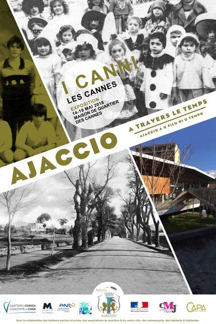 """Un beau succès pour l'exposition """"Ajaccio à travers le Temps """" aux Cannes"""