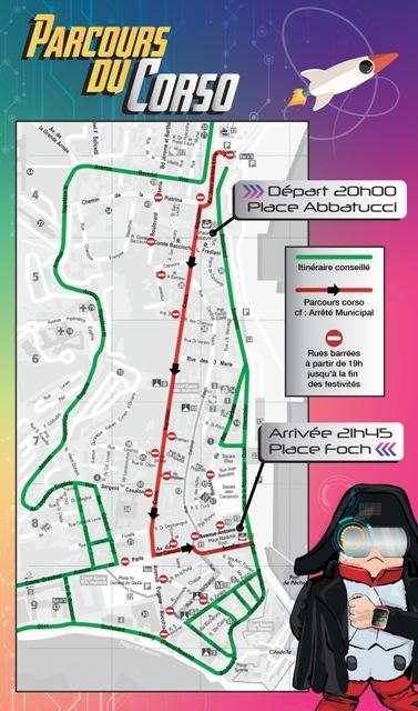 Retour en force du Carnaval de la Ville d'Ajaccio Samedi 30 juin 2018