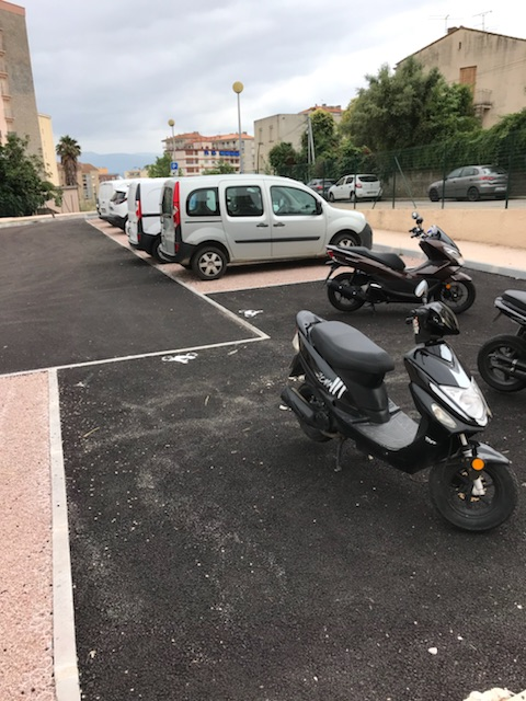 Ouverture du parking du Loretto!