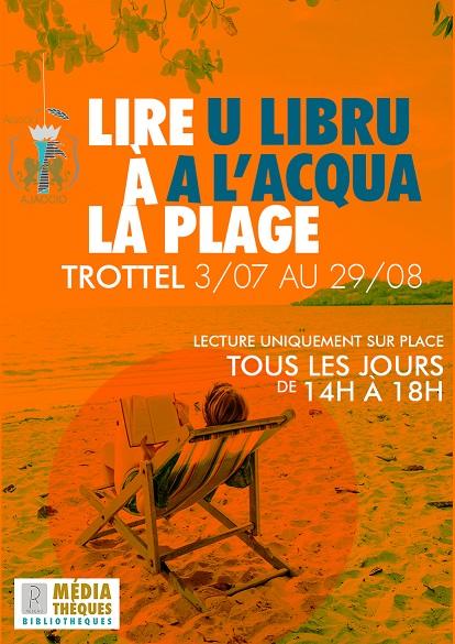 Lire à la plage 2018 - U Libru à l'acqua
