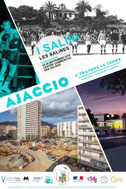 """Exposition """"Ajaccio à travers le Temps"""" aux Salines"""