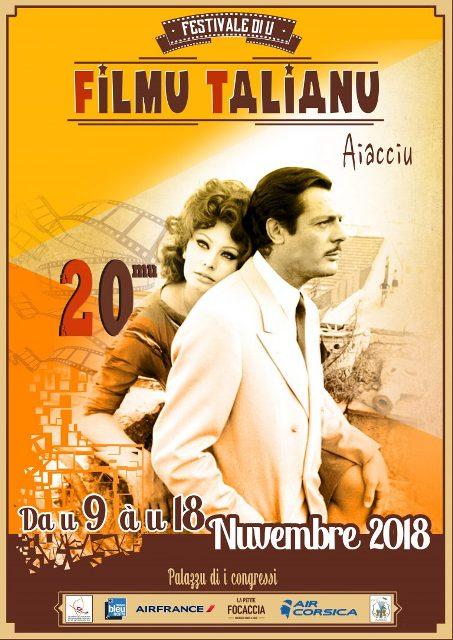 Festival du Film Italien 2018 du 9 au 18 novembre au Palais des Congrès