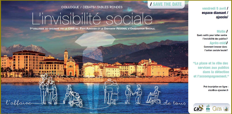 Colloque sur l'invisibilité sociale vendredi 5 avril à l'Espace Diamant