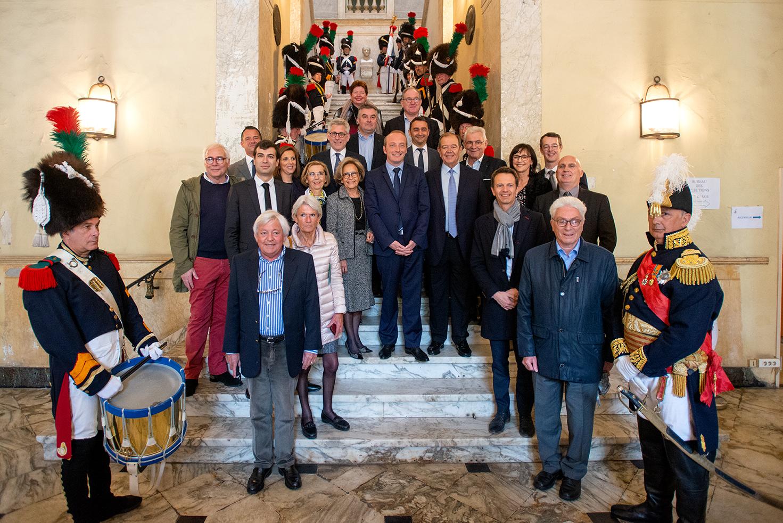Les dix-huit villes adhérentes au réseau Villes Impériales se sont réunies pour la première fois à Ajaccio (Photos Ville d'Ajaccio).