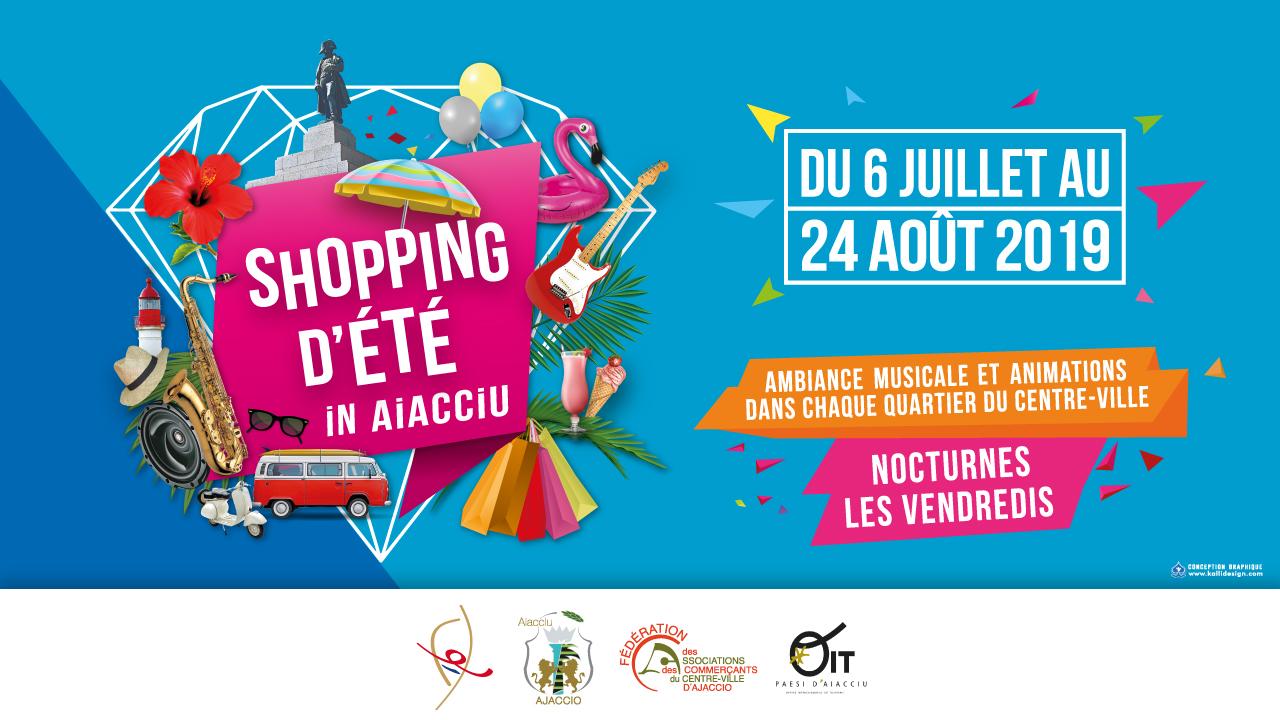 L'heure du shopping d'été Ajaccien a sonné !