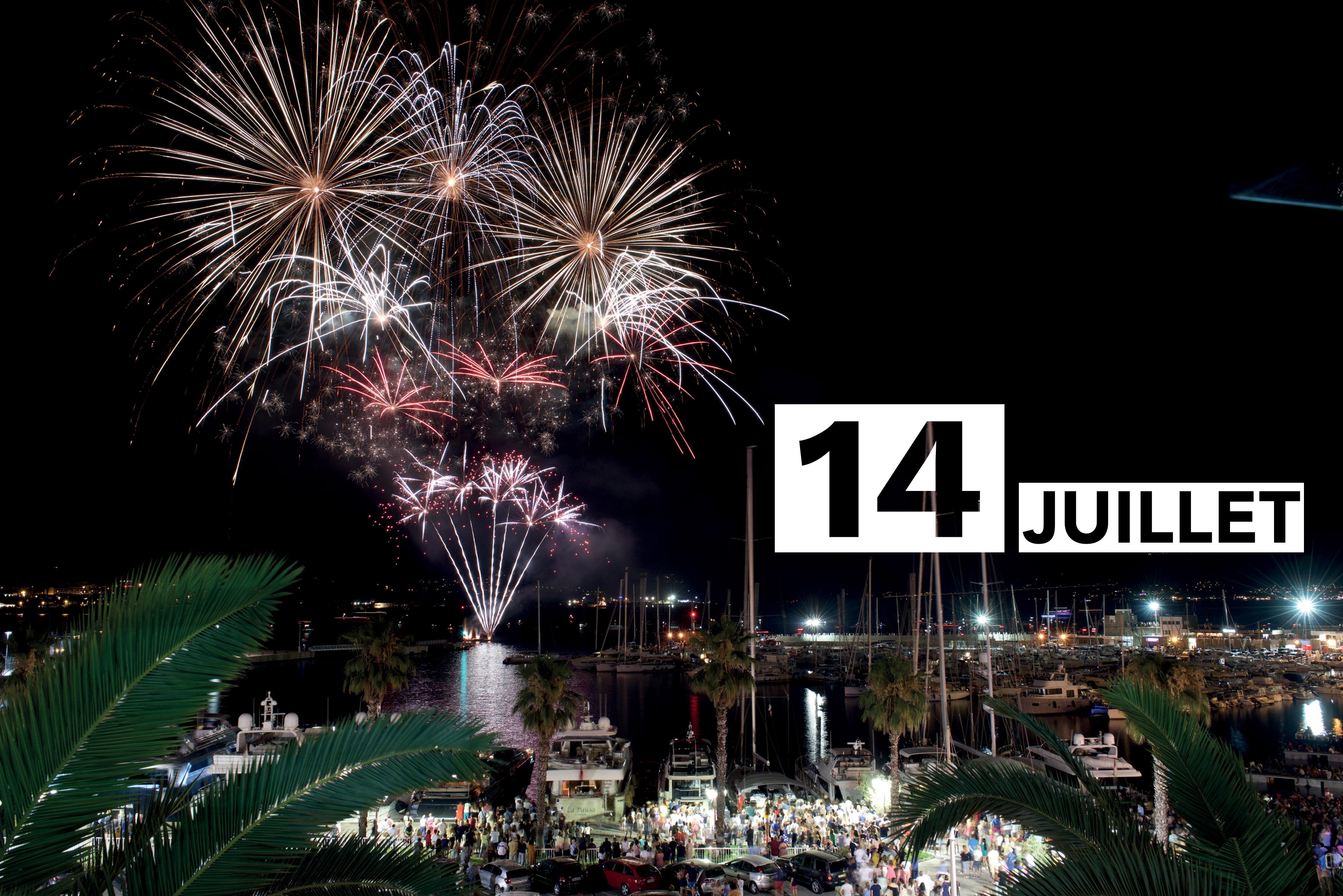 Le 14 juillet à Ajaccio