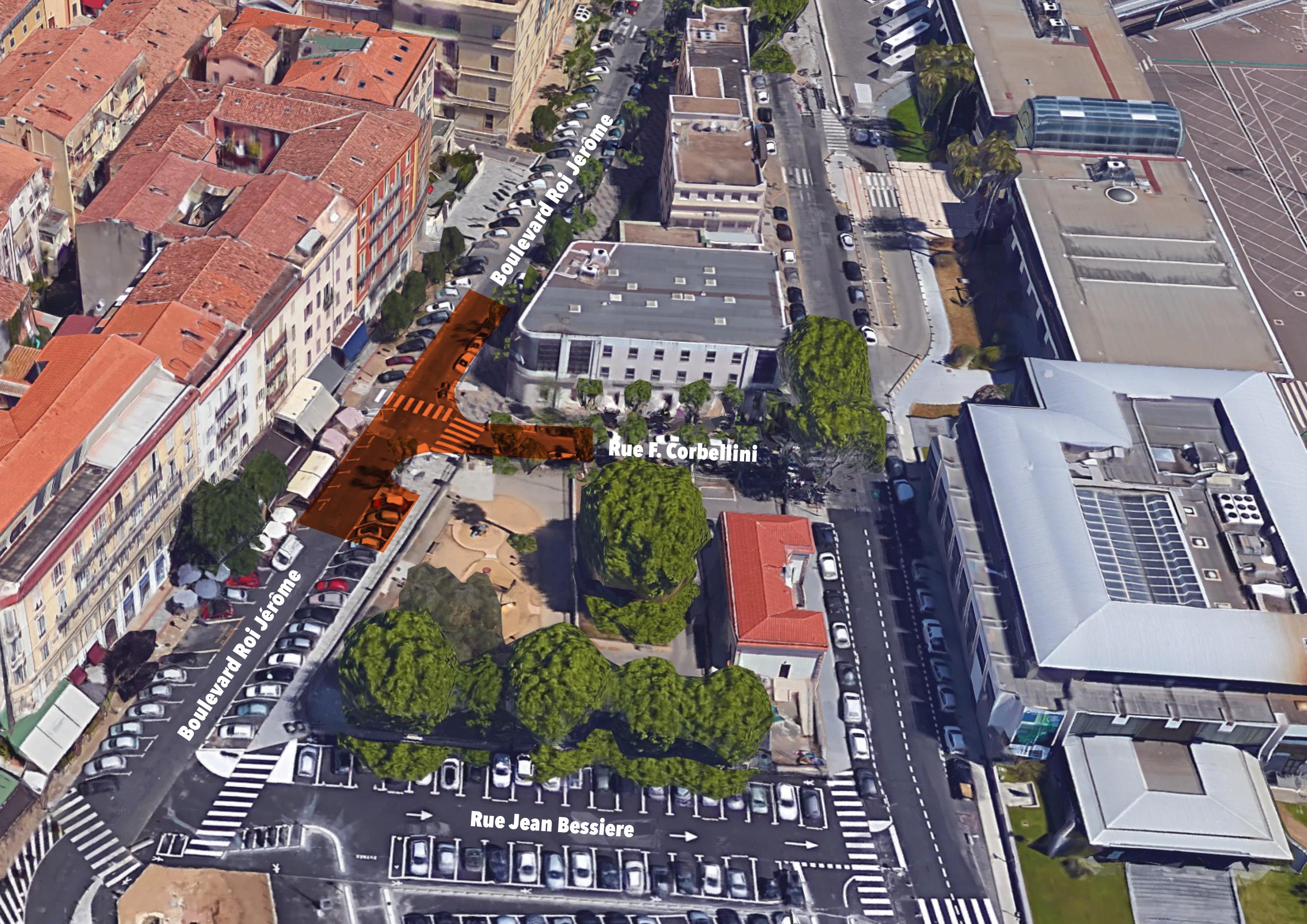 Stationnement interdit sur une portion du Bd Roi Jérôme, à partir du 15 juillet