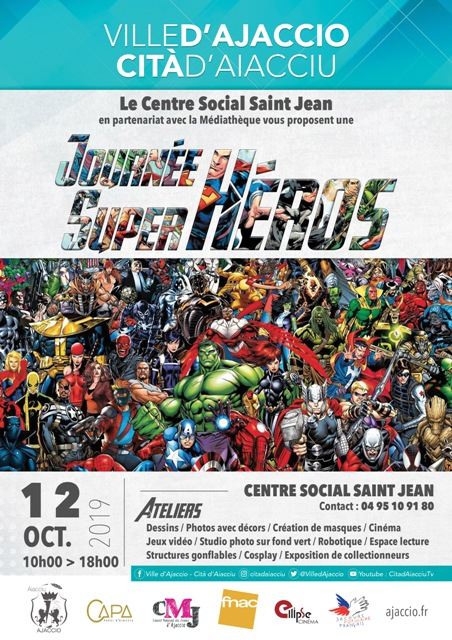 Programme de la journée super héros