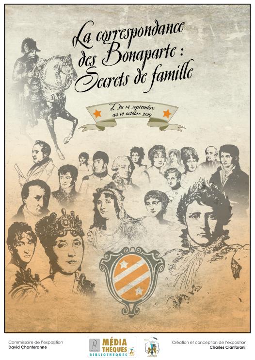 Exposition, La Correspondance des Bonaparte : secrets de famille