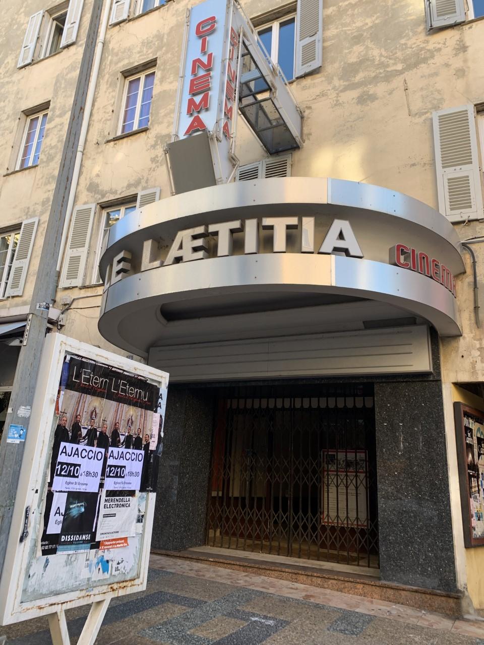 Pour la Ville, la réouverture du cinéma Le Laetitia offrirait de nombreux avantages en matière de développement culturel cinématographique du centre-ville (Photo Ville d'Ajaccio).