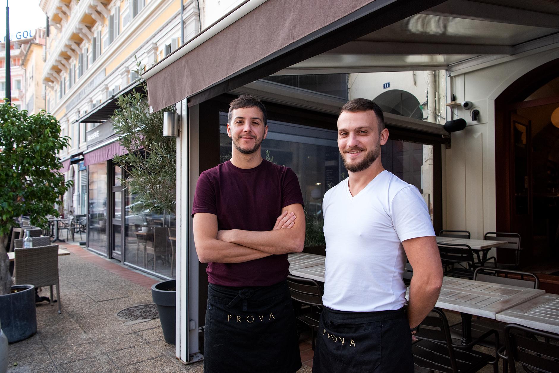 Ghjuvanni Colonna et Roccu Colonna d'Istria, de nouveaux sourires boulevard Roi Jérôme (Photo Ville d'Ajaccio).